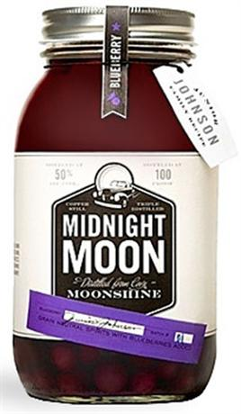 Midnight Moon Junior Johnsons Blueberry Moonshine